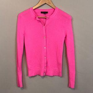 Banana Republic pink light weight cardigan